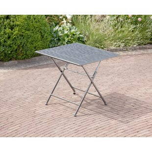 Tolentino Folding Steel Bistro Table By 17 Stories