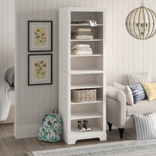 "Barnard 25""W Solid Wood Freestanding Closet Storage System"