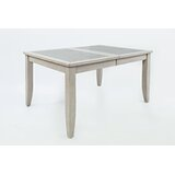 Leigh Extendable Solid Wood Dining Table by Red Barrel Studio®