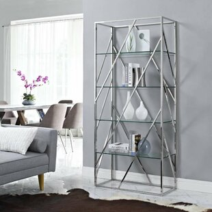 Janine Divider Etagere Bookcase by Orren Ellis