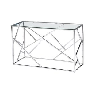 Orren Ellis Welton Angled Console Table
