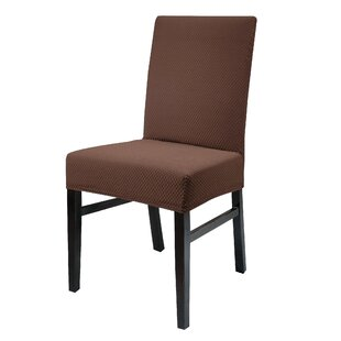 Stretch Spandex Dining Chair Slipcover (Set of 2)