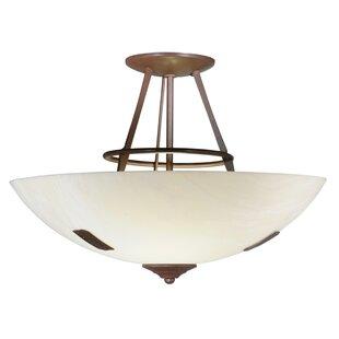Meyda Tiffany Essence 2-Light Semi-Flush Mount
