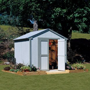 Marco Series 8 Ft. W X 7.5 Ft. D Wooden Storage Shed By Handy Home