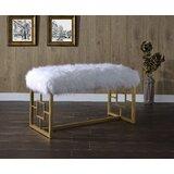 Rheba Upholstered Bench by Everly Quinn