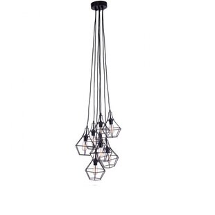 Covey 6-Light Cluster Pedant by Williston Forge