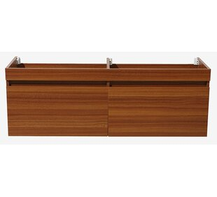 Largo 57 Double Bathroom Vanity Base Only By Fresca