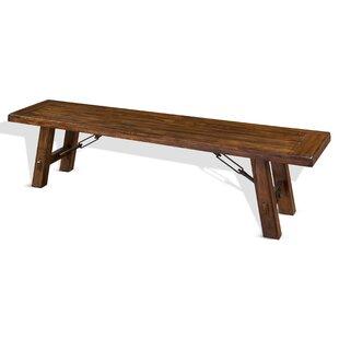 Loon Peak Hardin Wood Bench