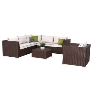 Mesquite 5 Piece Sectional Set with Cushions