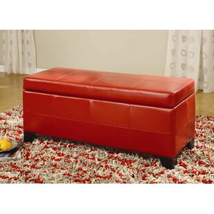 West Seattle Upholstered Storage Bench by Red Barrel Studio Spacial Price