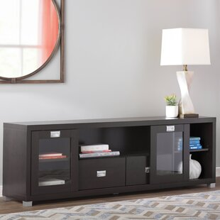 Buy luxury Hallstead TV Stand for TVs up to 70 by Wade Logan Reviews (2019) & Buyer's Guide