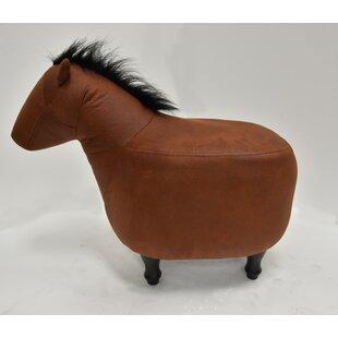 Shop for Quattlebaum Horse Ottoman ByLoon Peak