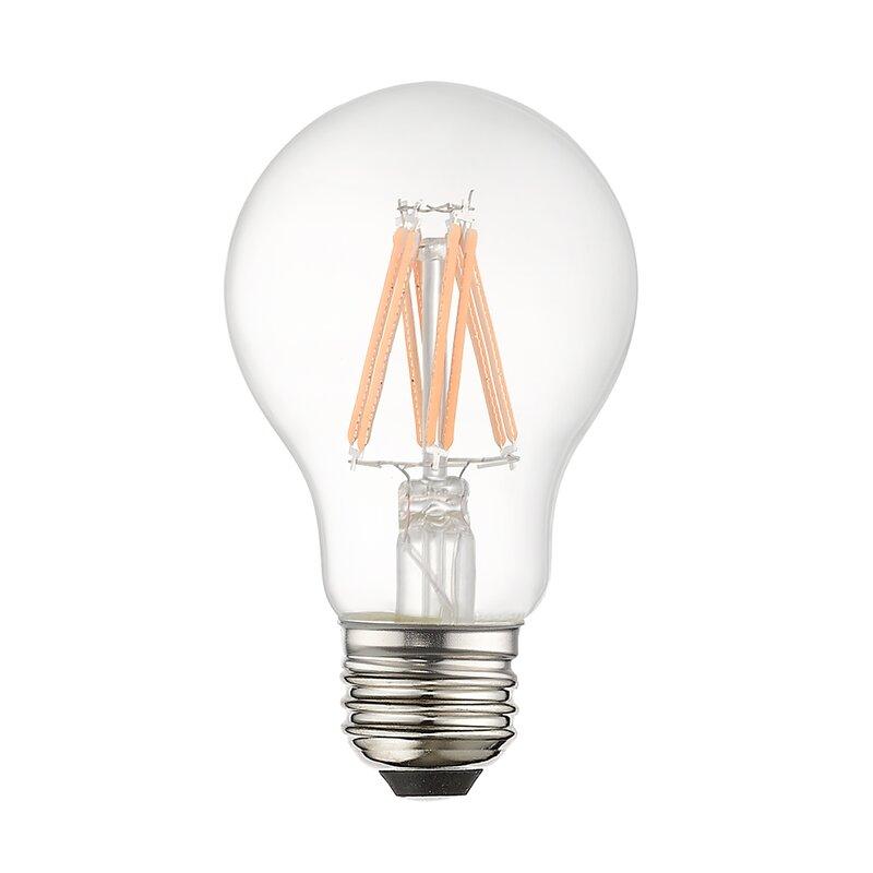 JTechs, Inc. 60 Watt Equivalent, A19 LED, Dimmable Light ...