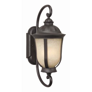 Great choice Oakhill Contemporary 3-Light Outdoor Wall Lantern By Charlton Home