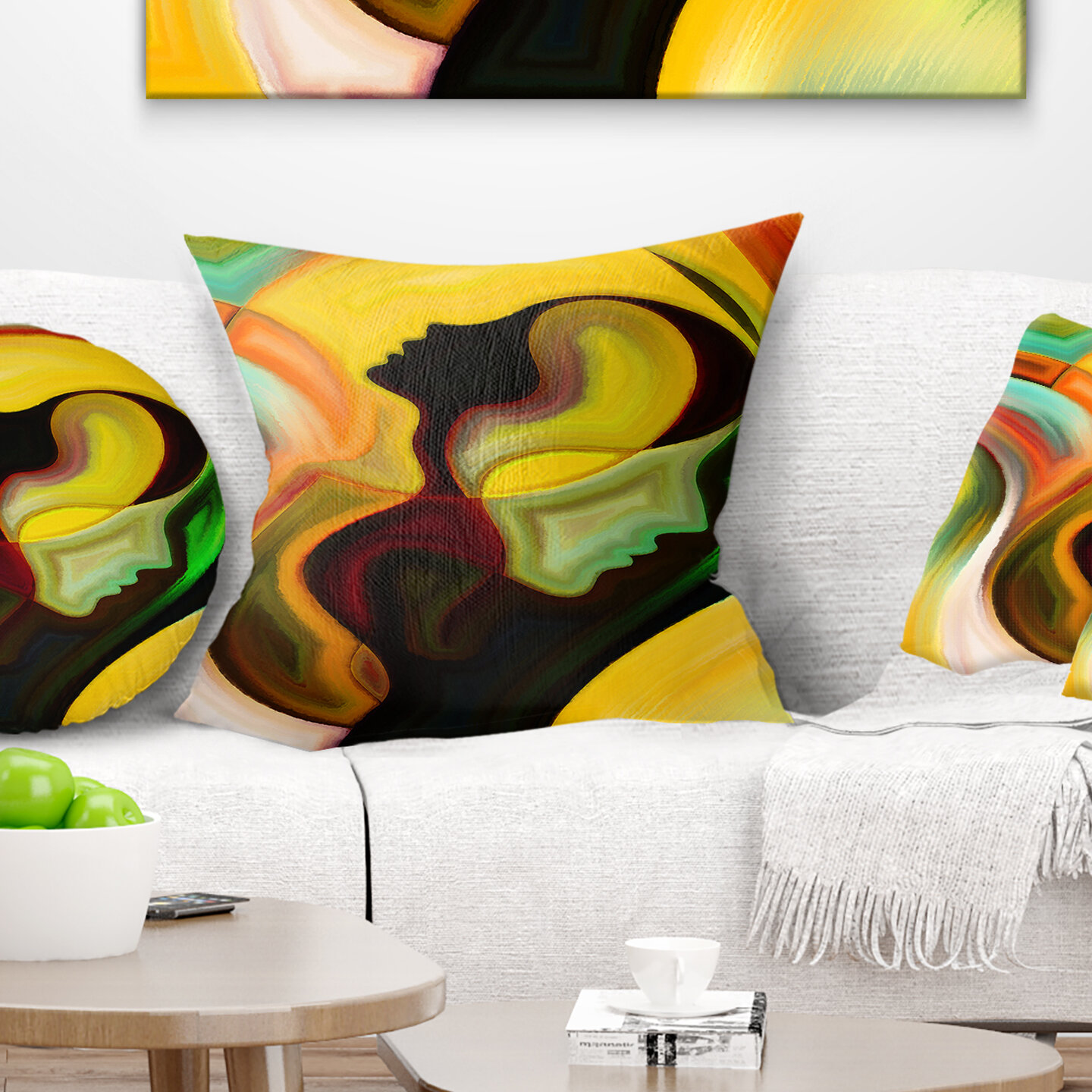 East Urban Home Planets Throw Pillow Wayfair