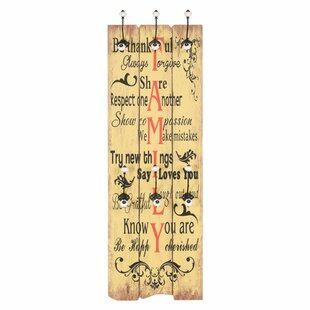 Stevenson Wall Mounted Coat Rack By Brambly Cottage