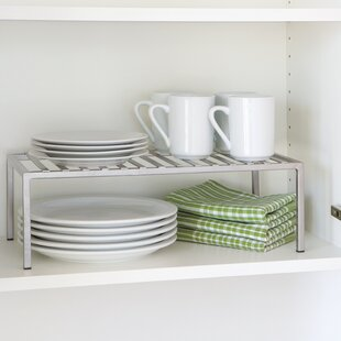 Expandable Kitchen Cabinet Helper Shelf