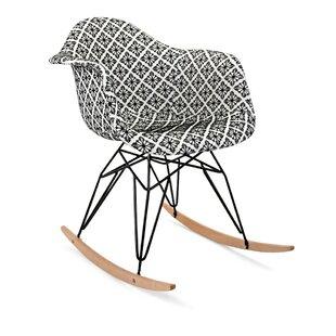 Brayden Studio Acton Turville Rocking Chair (Set of 2)