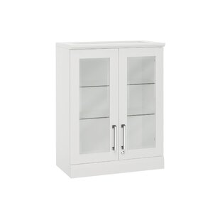 Home Bar Wall Cabinet With Wine Storage