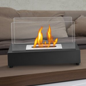 Beautiful Tower Ventless Bio Ethanol Tabletop Fireplace