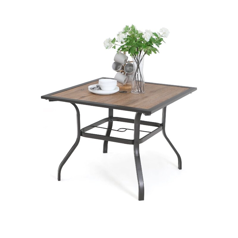 geeske patio dining table