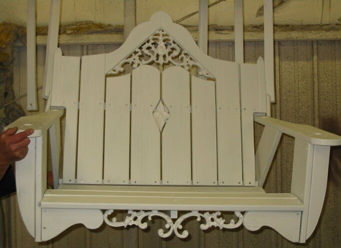 Uwharrie Veranda Porch Swing Wayfair