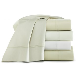Lyric 500 Thread Count Egyptian-Quality Cotton Flat Sheet