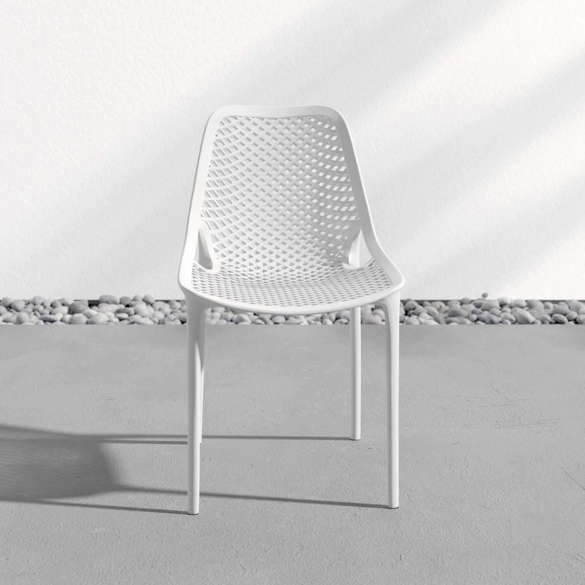 White Patio Dining Chairs You Ll Love In 2021 Wayfair