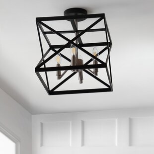 Laney 4-Light Semi Flush Mount..