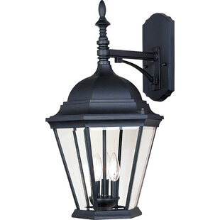 Listermann 3-Light Outdoor Wall Lantern By Alcott Hill Outdoor Lighting