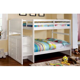 Check Prices June Twin Bunk Bed by Hokku Designs Reviews (2019) & Buyer's Guide