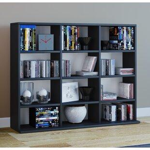 Mini Multimedia Open DVD/CD Shelf By Mercury Row