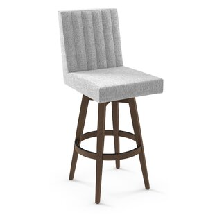 Gena 30 Swivel Bar Stool Brayden Studio