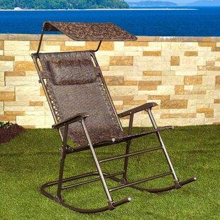 Cillian Rocking Folding Zero Gravity Chair