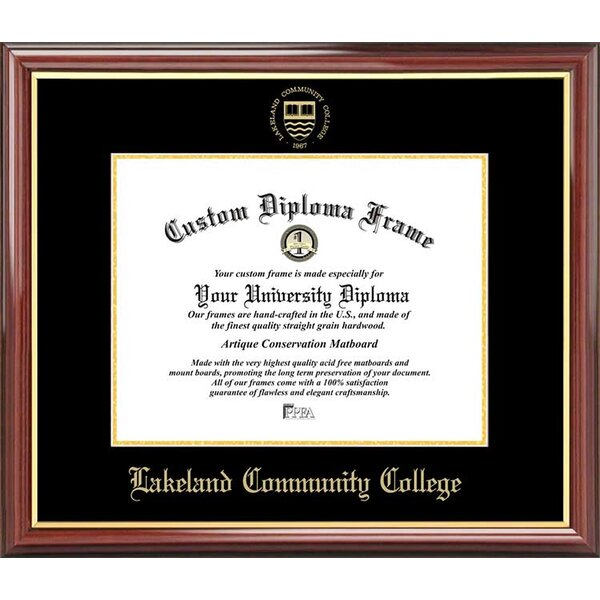 Diploma Frame Deals Lakeland Community College Petite Picture Frame Wayfair