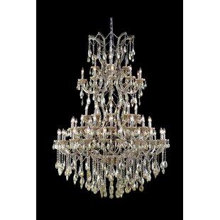 Regina 61-Light Swarovski Elements Candle Style Chandelier by House of Hampton