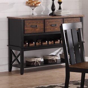 Burmuda Buffet Table by Gracie Oaks