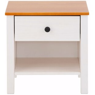 Pauline 1 Drawer Bedside Table By Ebern Designs