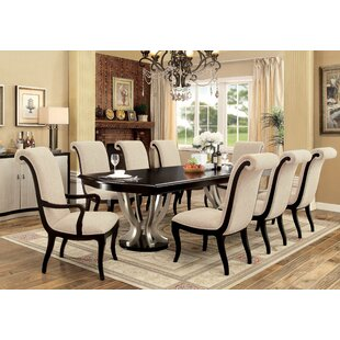 Willa Arlo Interiors Choncey 9 Piece Dining Set