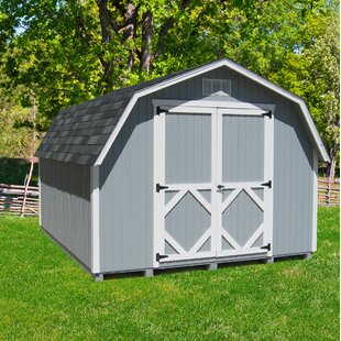 Classic Gambrel Solid Wood Storage Shed By Little Cottage Company