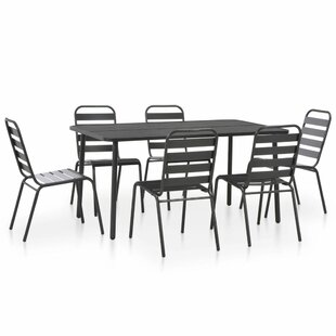 Beaird 6 Seater Dining Set By Sol 72 Outdoor