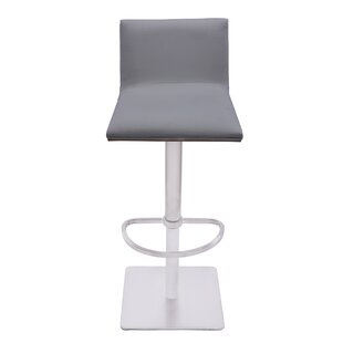 Great Price Bonetti Adjustable Height Swivel Bar Stool by Orren Ellis Reviews (2019) & Buyer's Guide