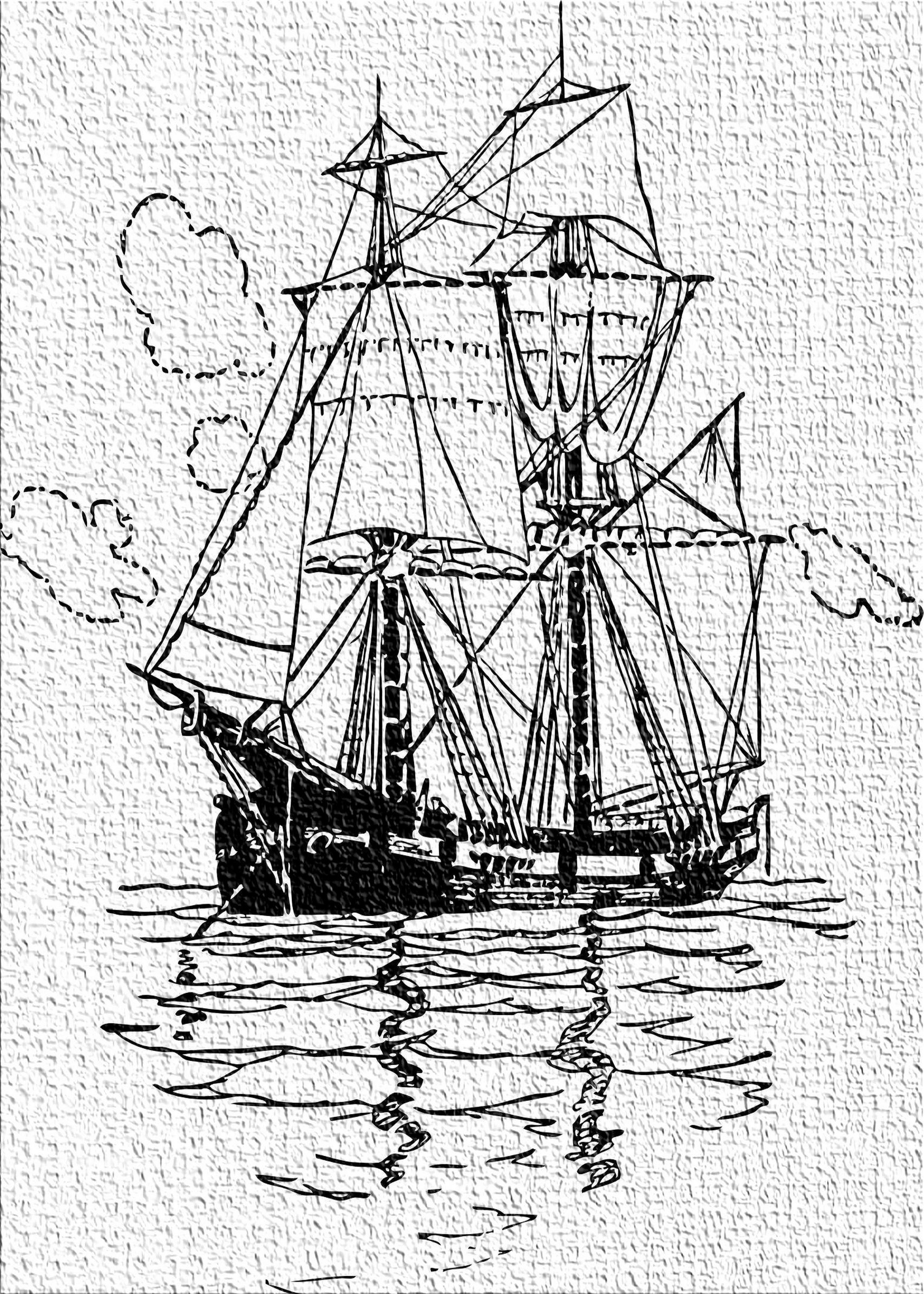 East Urban Home Ship Black Area Rug
