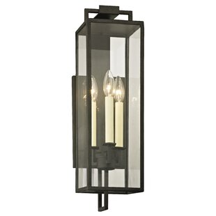 Read Reviews Advika 3-Light Outdoor Sconce By Darby Home Co