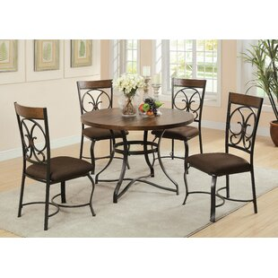 Anthonyville 5 Piece Dining Set by Fleur De Lis Living 2019 Online