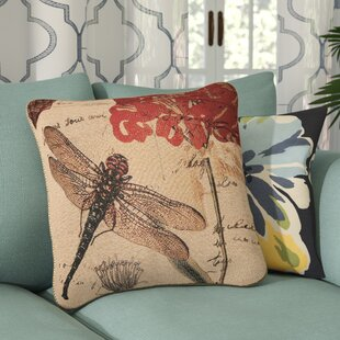 Annesse Dragonfly Dream Pillow Cover