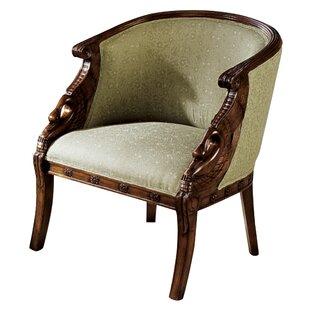 Due Cigno Barrel Chair by Design Toscano