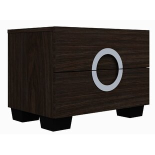 Madalyn 2 Drawer Nightstand by Orren Ellis