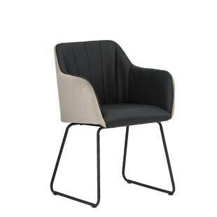 Cosey Upholstered Dining Armchair By Ebern Designs