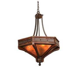 Kalco Aspen 6-Light Bowl Pendant